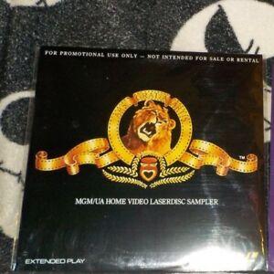 Details about MGM/UA HOME VIDEO ~ SEALED 1990 PROMO LASERDISC SAMPLER BRAND  NEW.