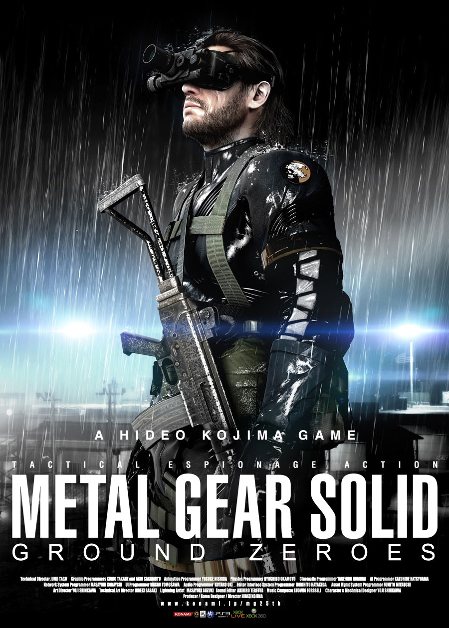 Metal Gear Solid Ground Zeroes Clipart.