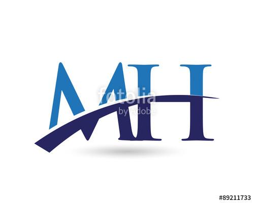 MH Logo Letter Swoosh\