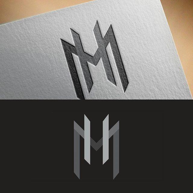 MH monogram logo For sale! Unused.