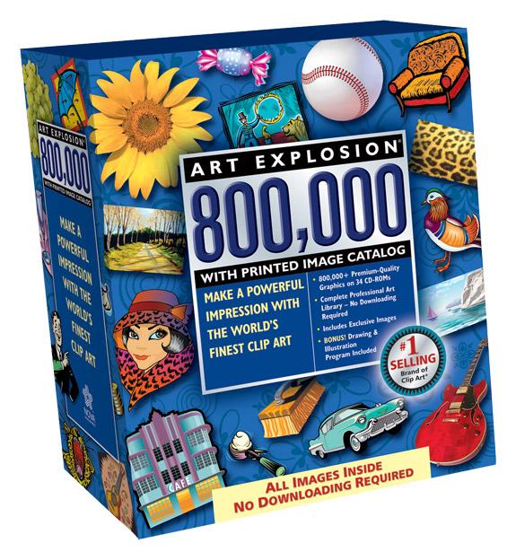 Art Explosion 800,000.