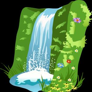 Excellent Clipart Yoro Waterfall In Mino Graphic.