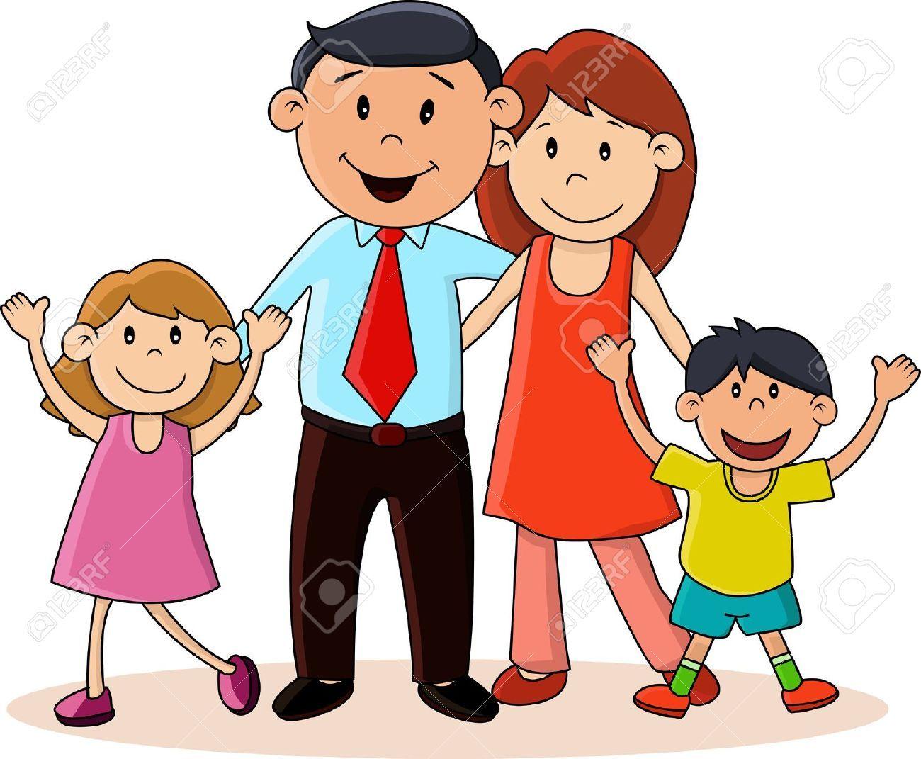 Resultado de imagen para imagenes infantiles de familias.