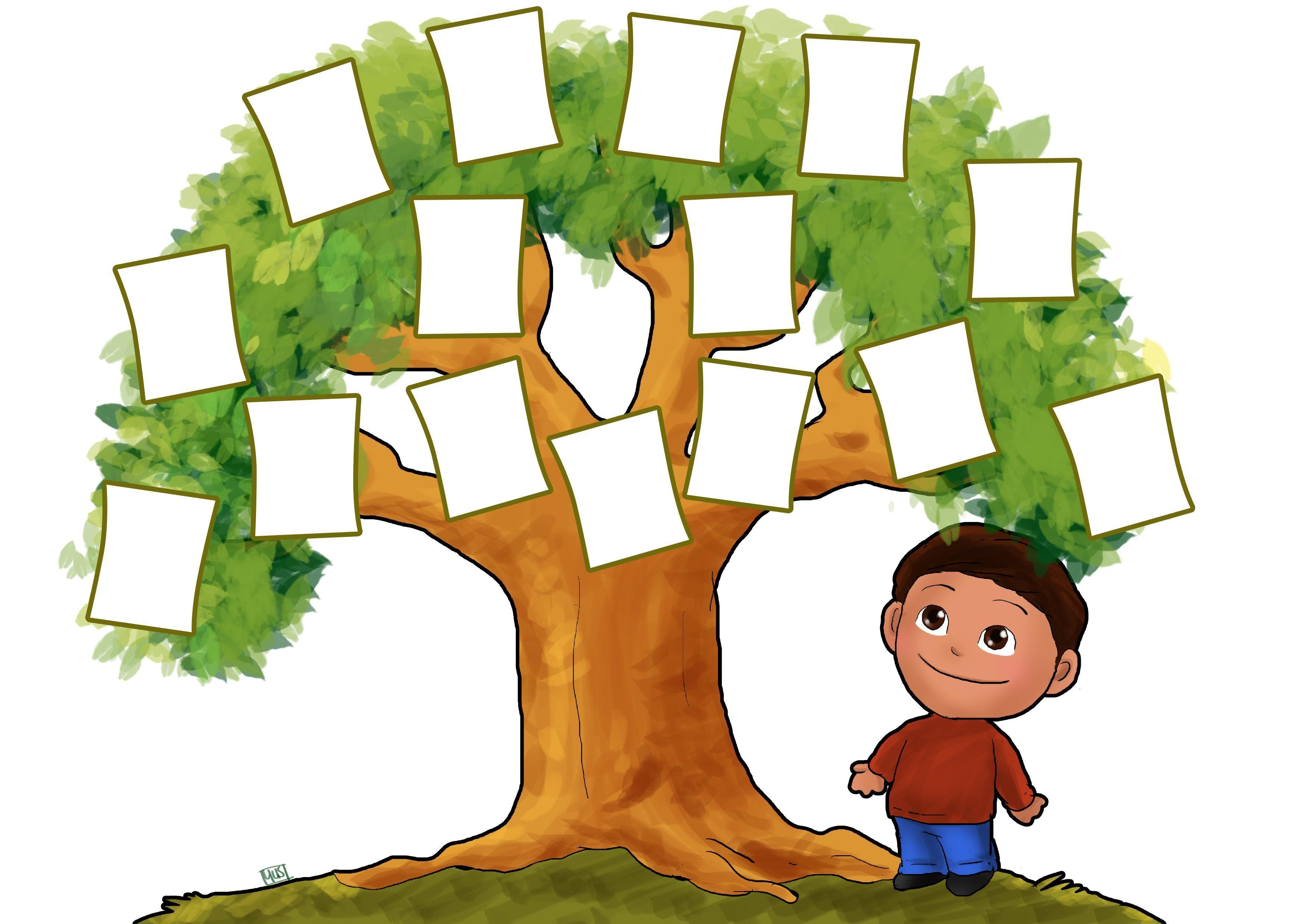 Family Tree Clip Art Mi Familia Tree.