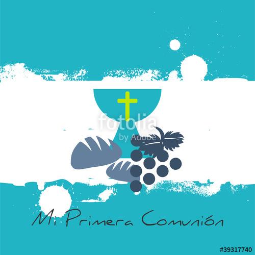 MI PRIMERA COMUNION\