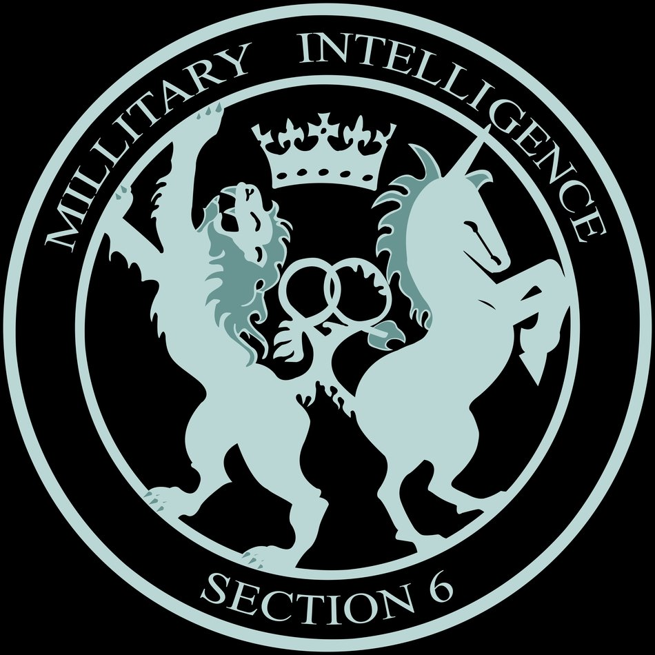 MI6 British Intelligence Logo free image.