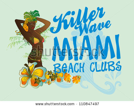 Miami Beach Stock Photos, Royalty.