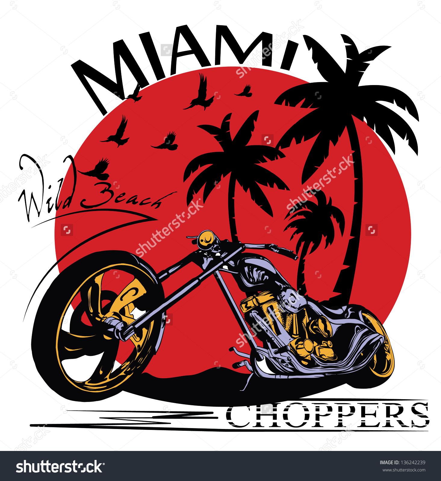 Miami beach iphone clipart.