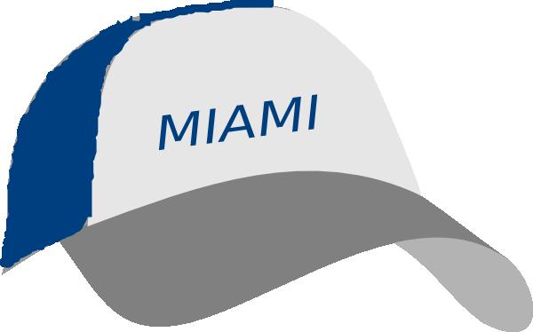 Miami Cap Clip Art at Clker.com.