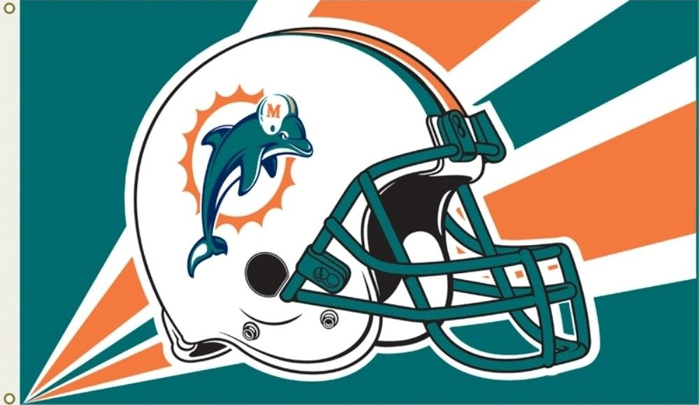 ClipArt of Miami Dolphins.