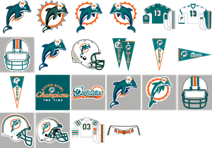 Miami Dolphins Logo Vector (.AI) Free Download.