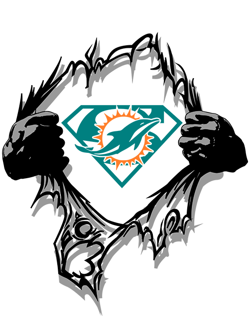Miami Dolphins Super Logo PNG & SVG.