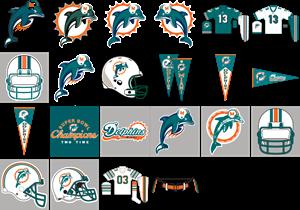 Miami Dolphins Logo Vector (.AI) Free Download.