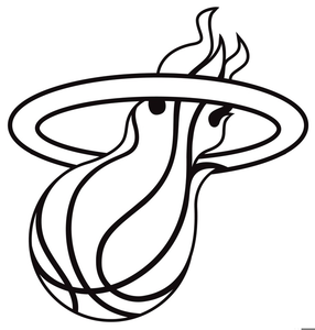 Miami Heat Clipart.