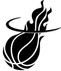 Free Miami Heat Black And White Logo, Download Free Clip Art.