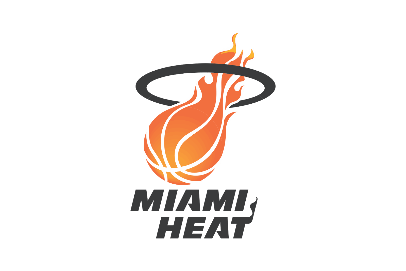 Miami Heat Logo transparent PNG.