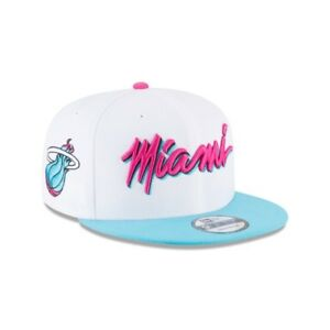 Details about Miami Heat Vice New Era 9FIFTY NBA City Edition Snapback Cap  South Beach Hat 950.