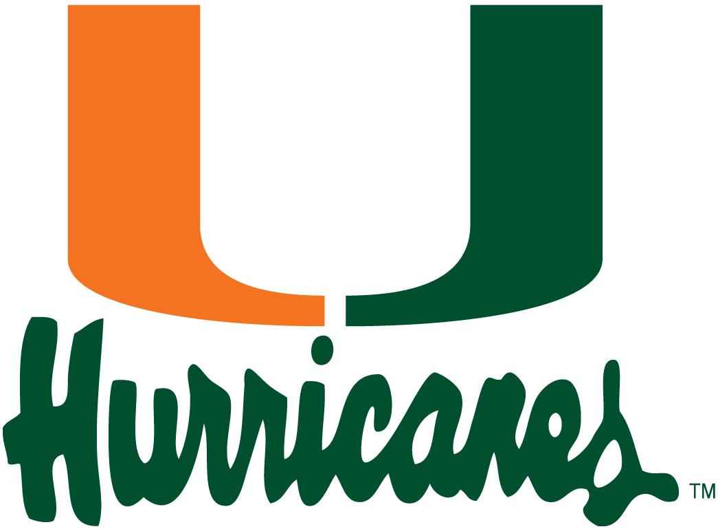 Miami Hurricanes Alternate Logo.