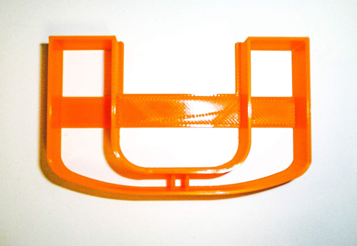 UNIVERSITY OF MIAMI HURRICANES FOOTBALL LOGO NCAA D1 SPECIAL OCCASION  COOKIE CUTTER BAKING TOOL 3D PRINTED MADE IN USA PR926.