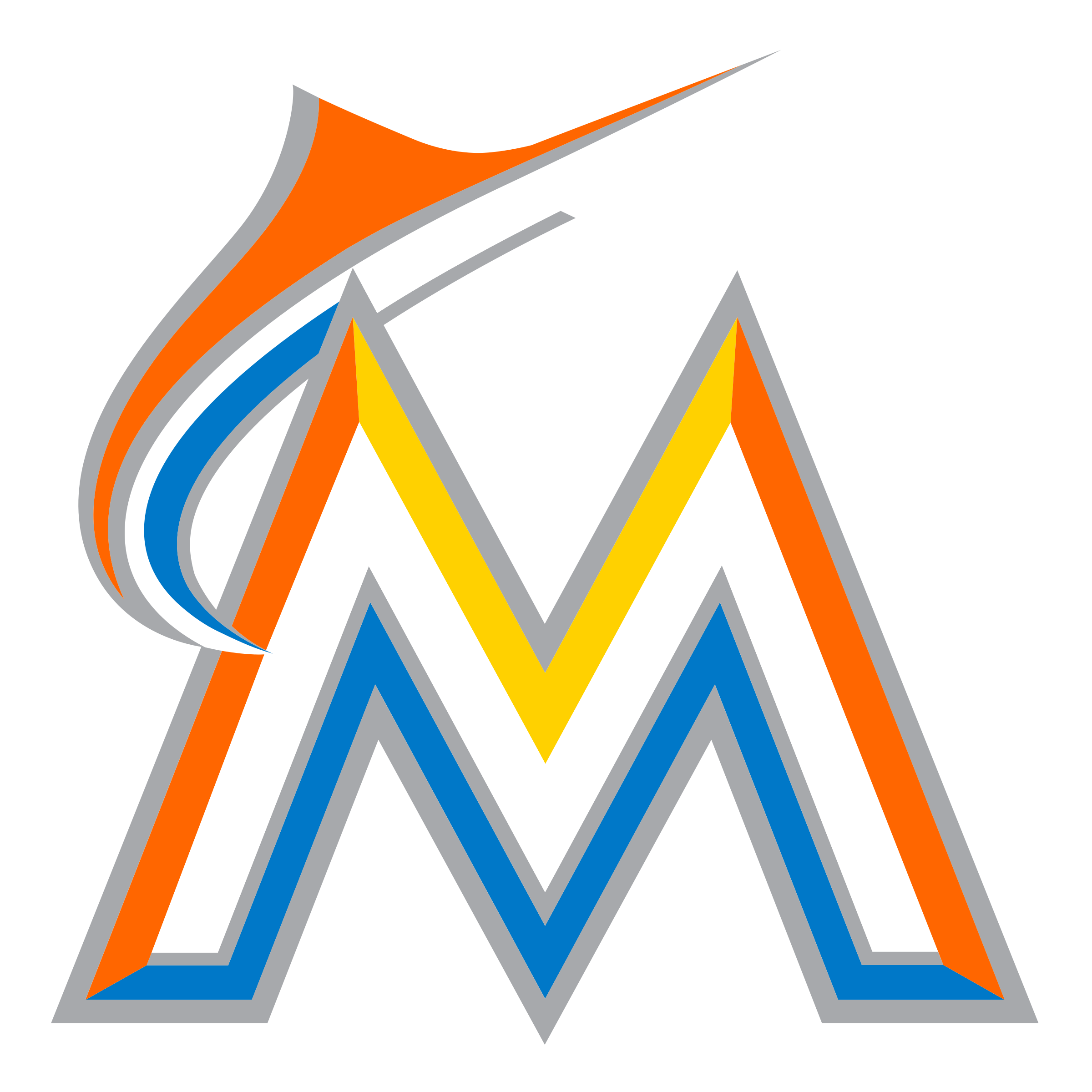 Miami Marlins Logo PNG Image.