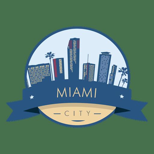 Miami City Badge.