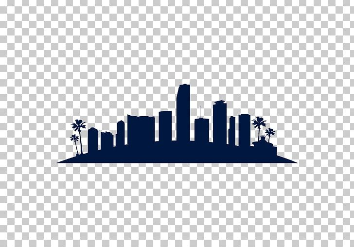 Miami Skyline Silhouette PNG, Clipart, Animals, Art, Art.