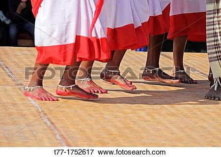 Picture of Tea tribes Performing Traditional Jumur Dance at.