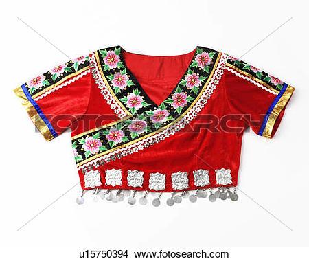 Stock Photo of a coat of Miao Minority u15750394.