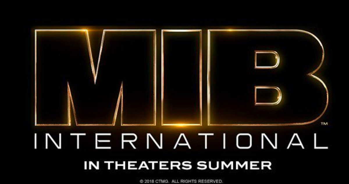 New Men in Black Movie Gets Titled MIB International, Logo.