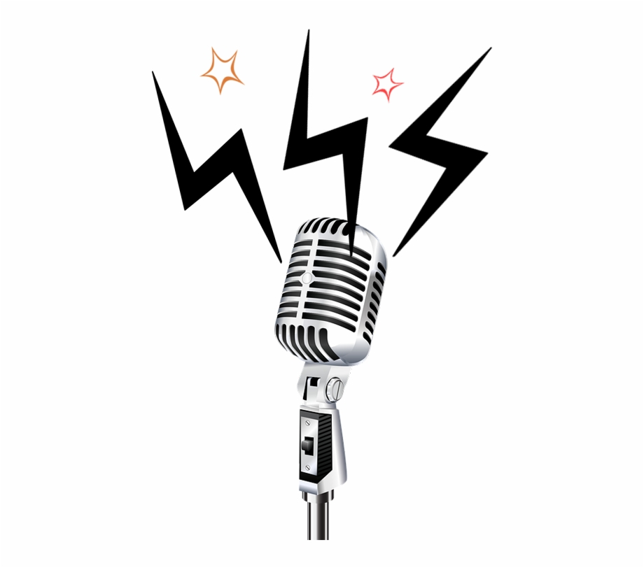 Retro Microphone Png , Png Download.
