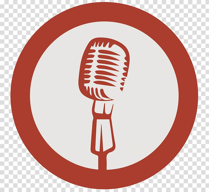 Microphone Logo, microphone transparent background PNG.