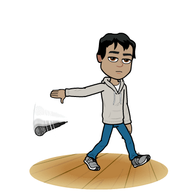 Drop the mic clipart.