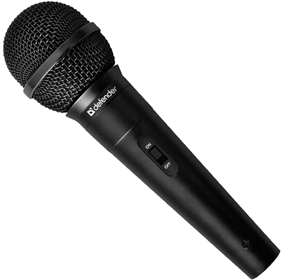 Microphone PNG Image.