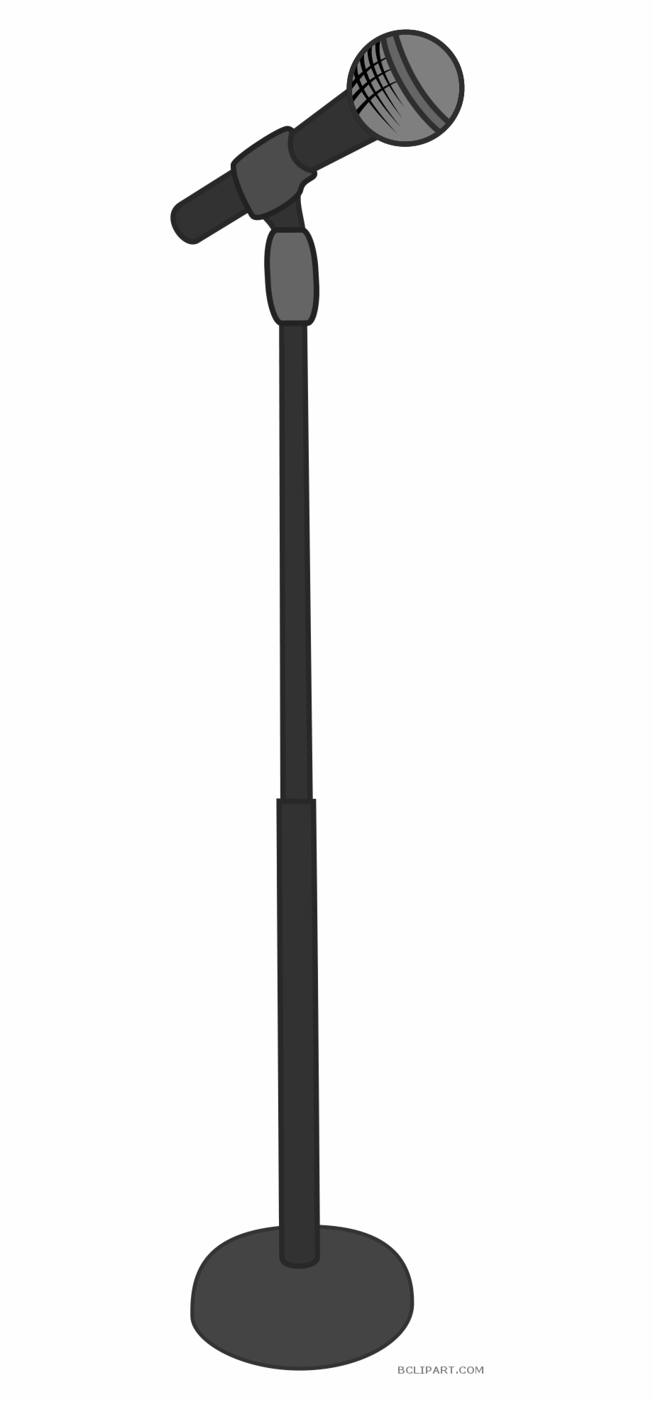 Microphone Stand Clipart Free PNG Images & Clipart Download.