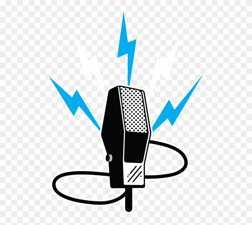 Old Microphone Vector Clipart (#1740586).