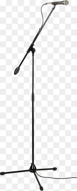 Microphone Stand PNG Images.