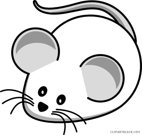 Mice Clipart Black And White.
