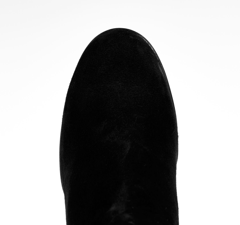 River island Black Suede Embellished Heeled Ankle Boots in Black.