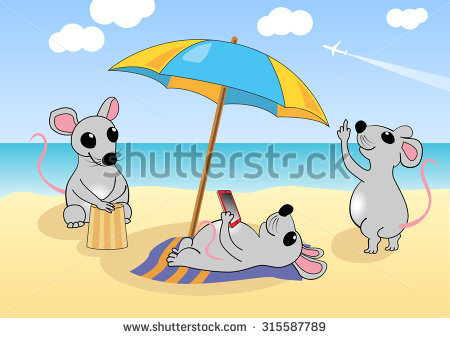Flying Mouse Stock Photos, Royalty.