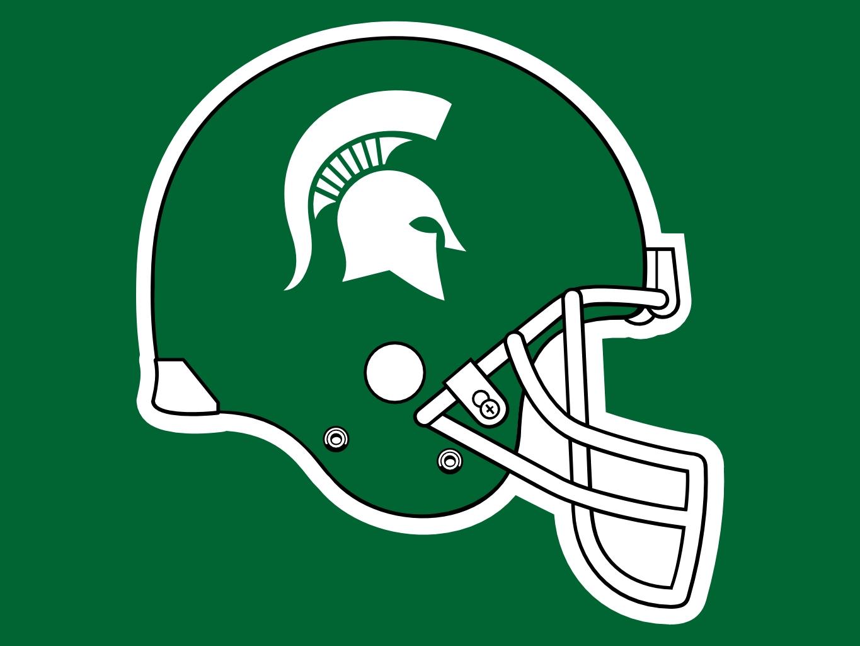 Michigan State Spartan Logo Clip Art.