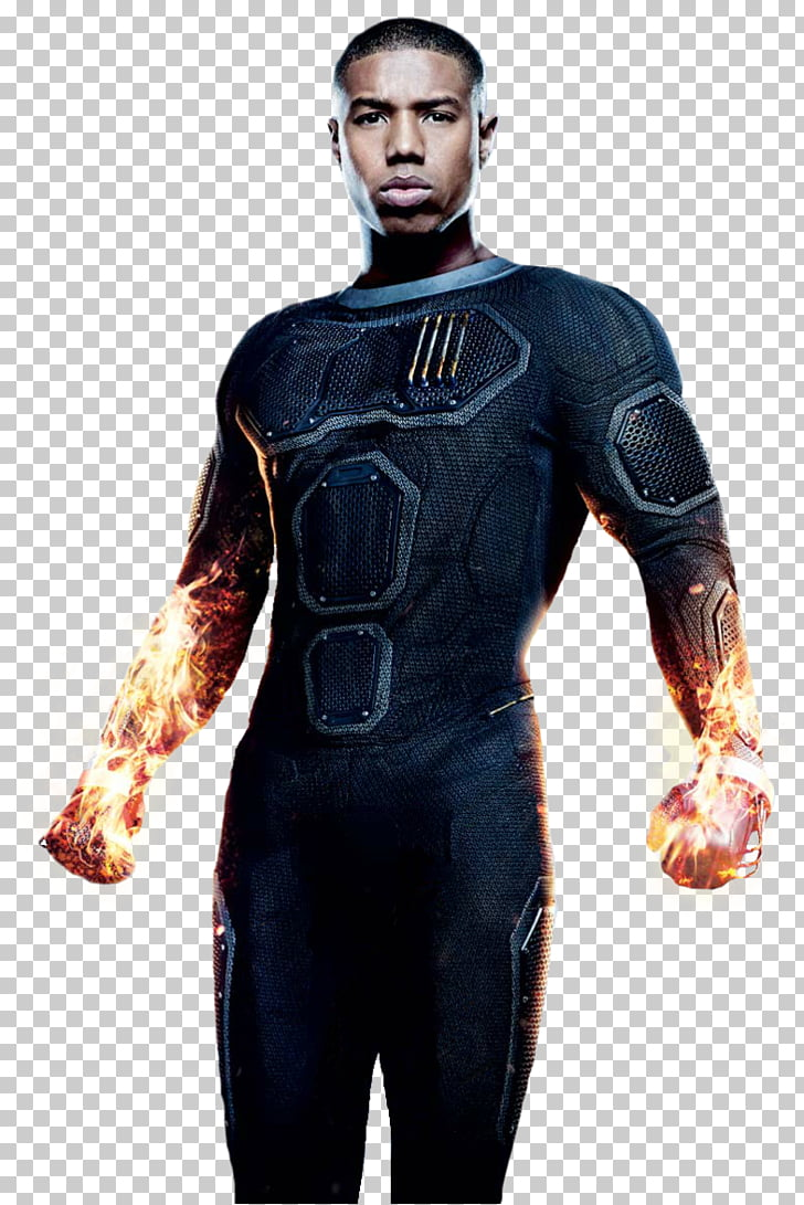 Michael B. Jordan Human Torch Fantastic Four Actor Film.