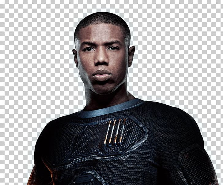 Michael B. Jordan Fantastic Four Human Torch Invisible Woman.