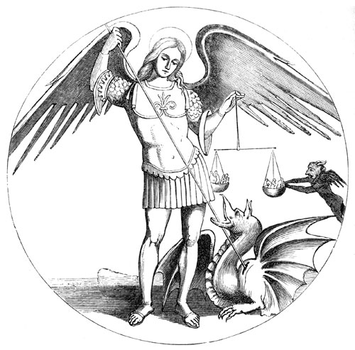 Free clipart st michael the archangel.