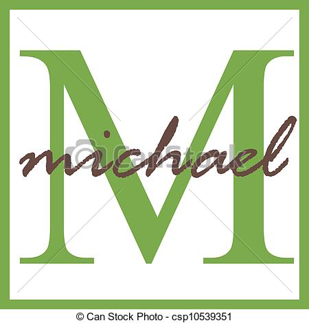 Name graphics michael Illustrations and Clipart. 5 Name graphics.