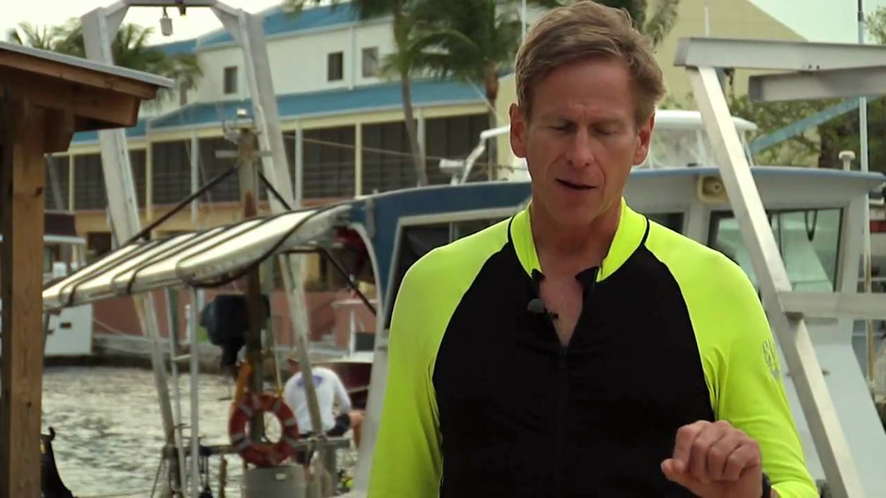 Astronaut Mike Gernhardt talks center of gravity.