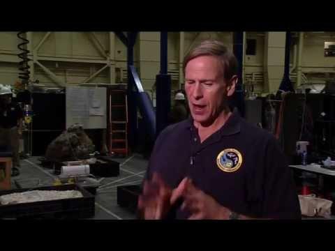Mike Gernhardt on Asteroid Mission Simulation.