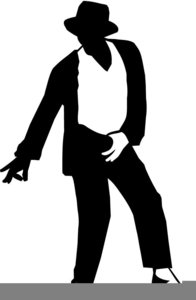 Michael Jackson Moonwalk Clipart.