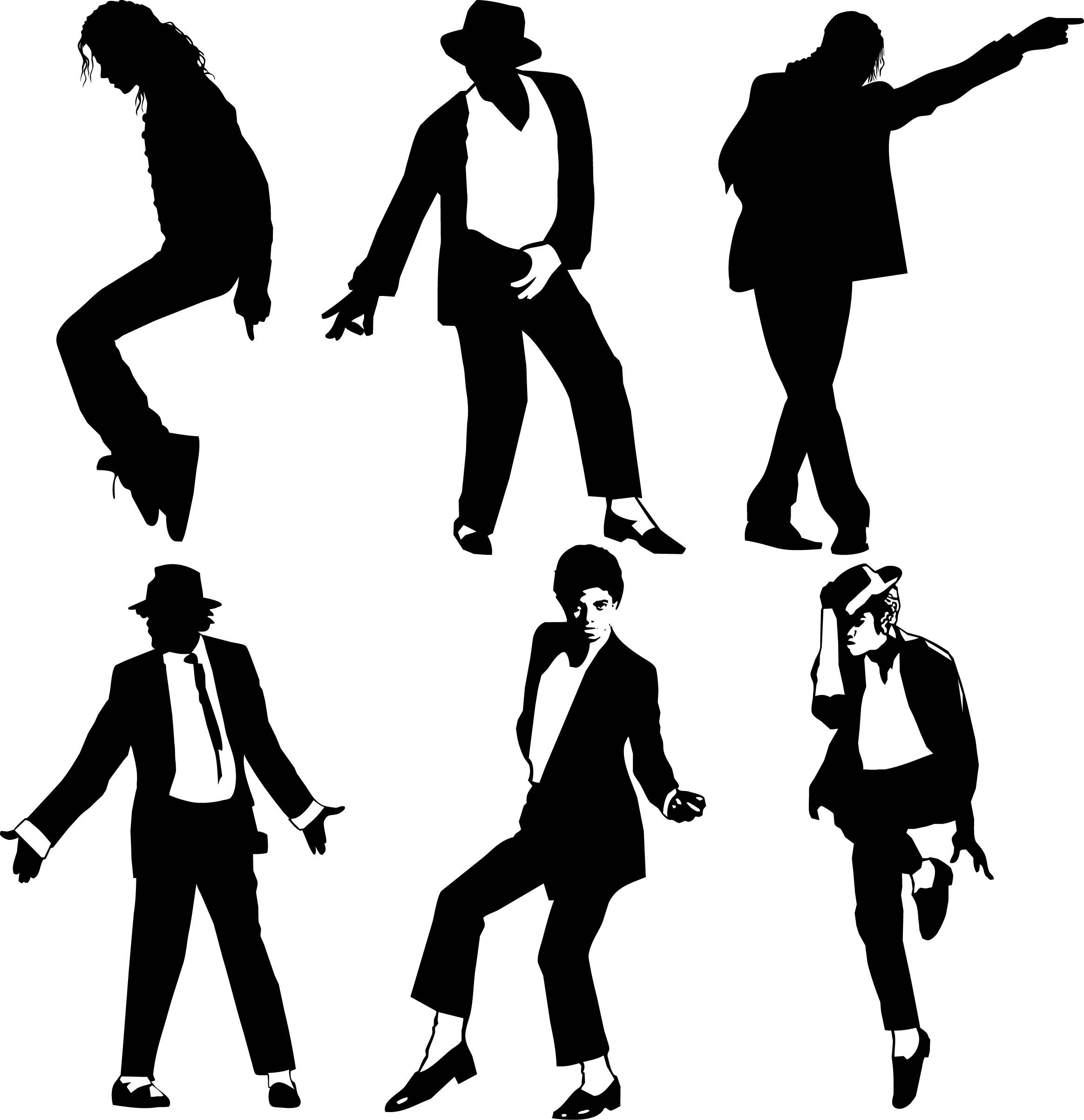 Collection of Michael jackson clipart.