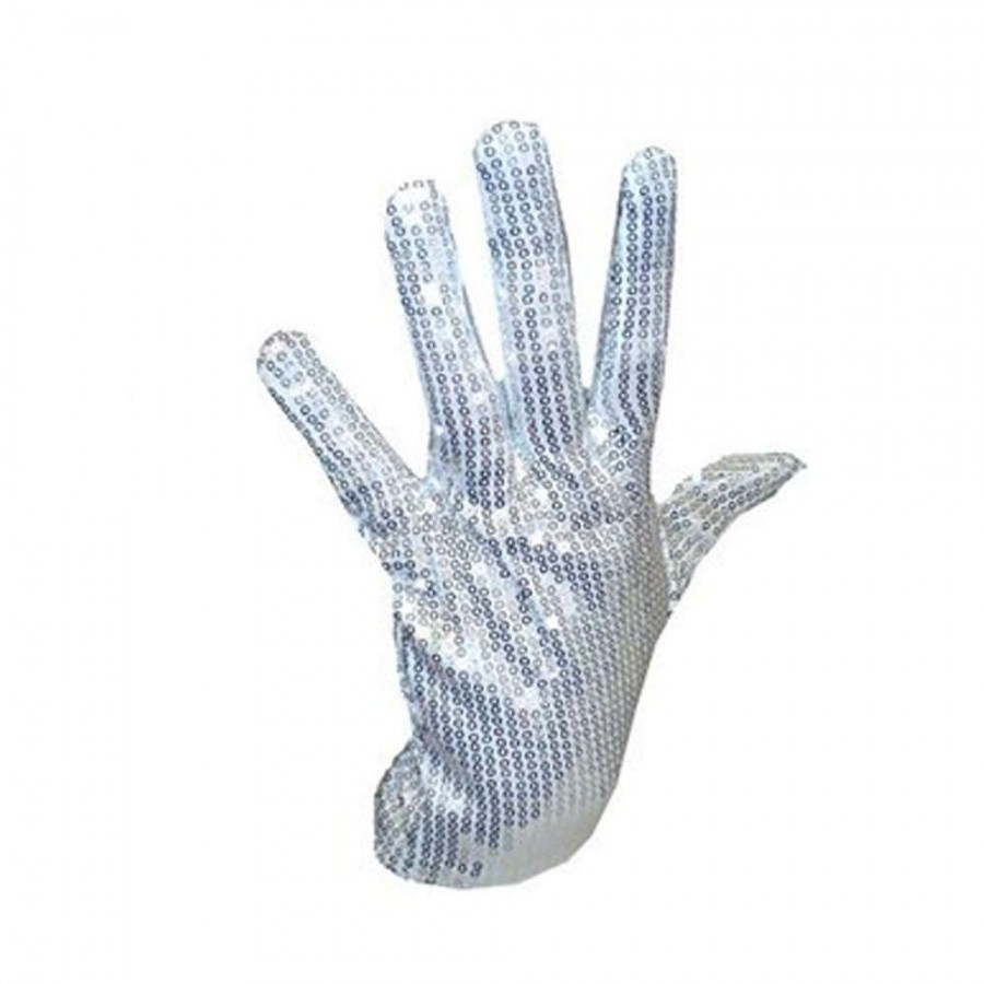 Non Light Up Michael Jackson Right Hand Sequin Glove.