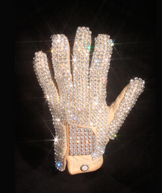 Iconic Michael Jackson Glove from 1983 Billie Jean Performance (Replica).